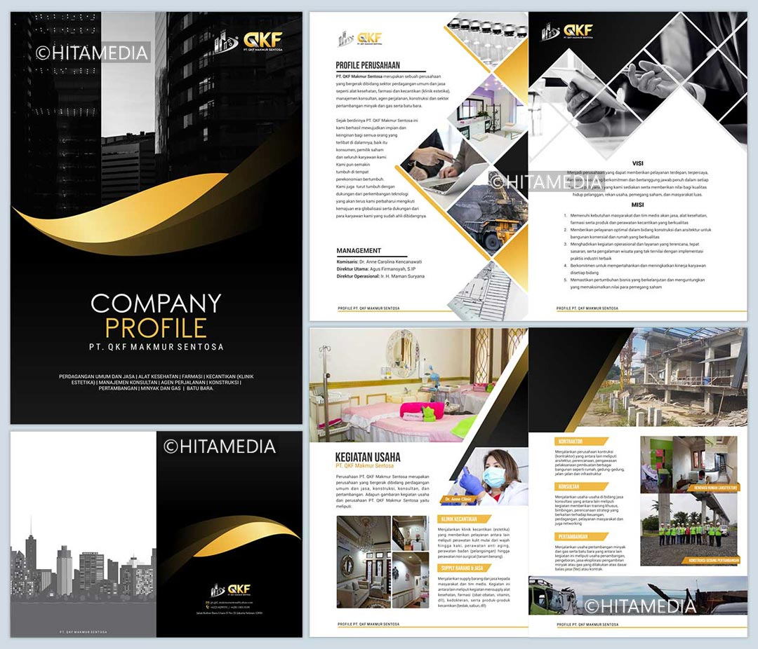 portofolio Company Profile Perusahaan Jasa Konstruksi