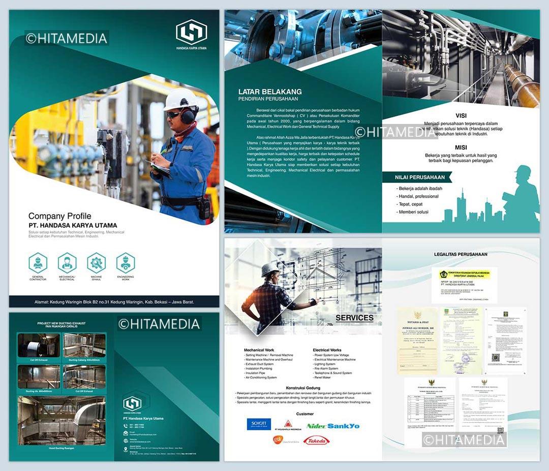 portofolio Jasa Pembuatan Desain Company Profile