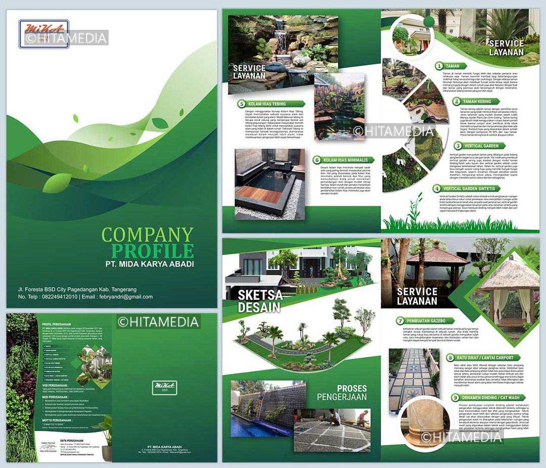 portofolio Harga Cetak Company Profile