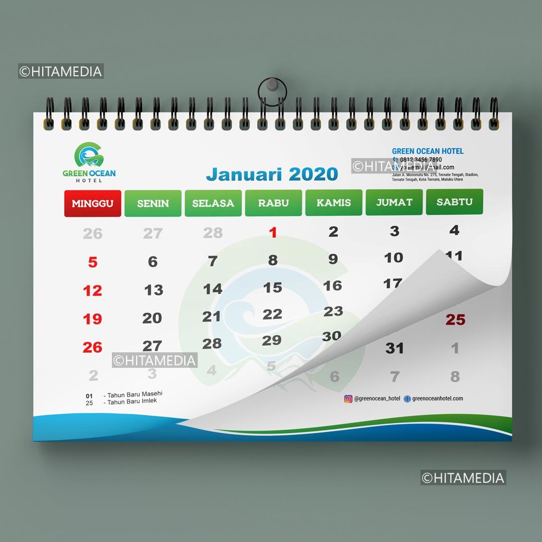 portofolio Jasa Cetak Kalender 2021