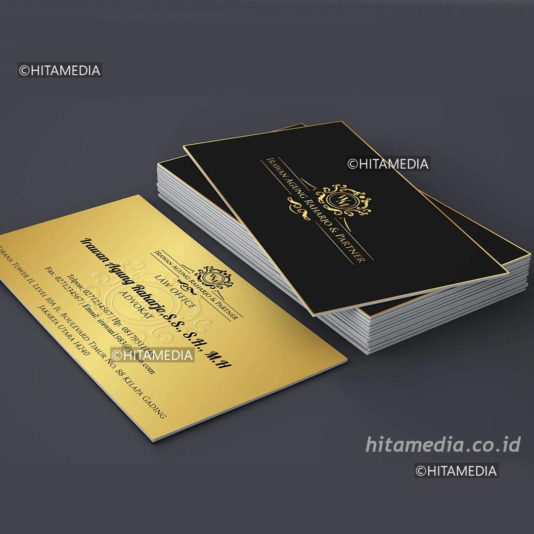 portofolio Kartu Nama Cetak Undangan