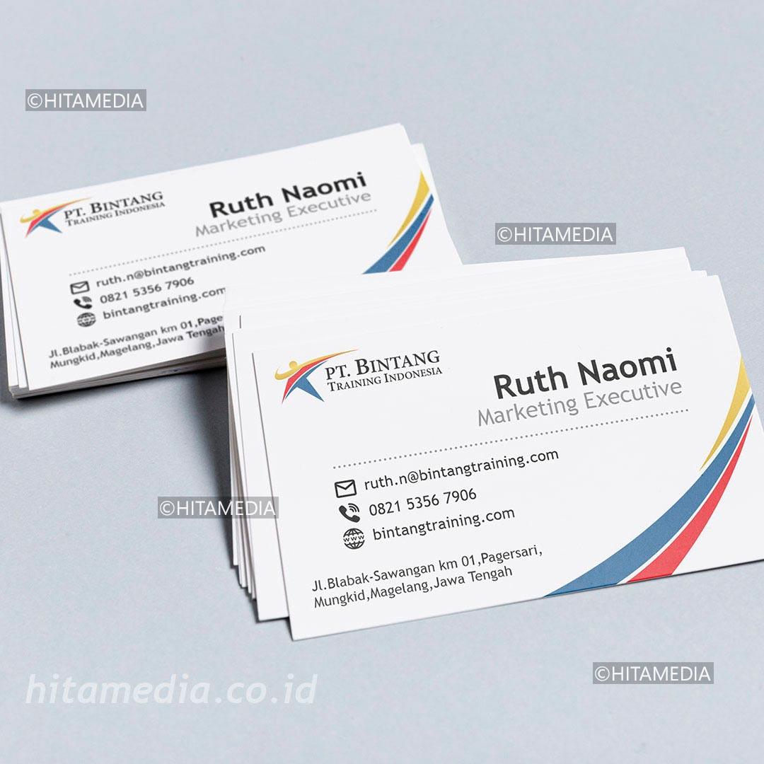 portofolio Membuat Desain Kartu Nama Dengan Photoshop